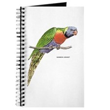 Rainbow Lorikeet Bird Journal