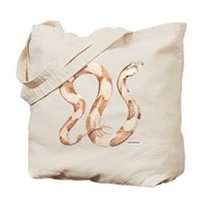 Copperhead Snake Tote Bag