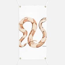 Copperhead Snake Banner