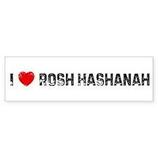 I * Rosh Hashanah Bumper Bumper Sticker