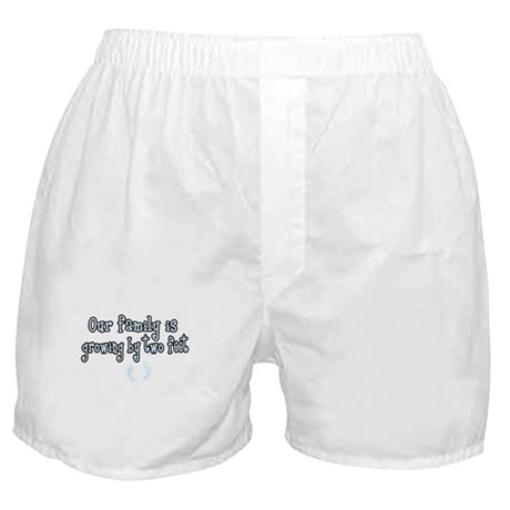 Growing by two feet Boxer Shorts