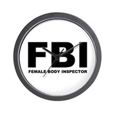 FBI Wall Clock