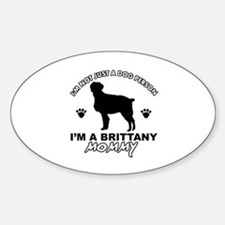 Brittany Mommy Sticker (Oval)