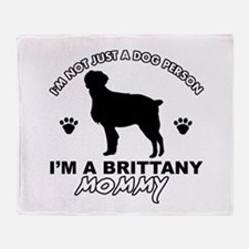 Brittany Mommy Throw Blanket