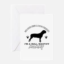 Bull Mastiff Mommy Greeting Card
