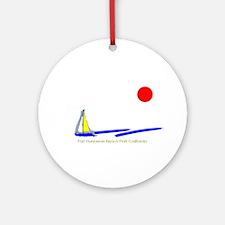 Port Hueneme Ornament (Round)