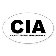 CIA Oval Decal