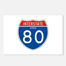 Interstate UT - 80 Postcards (Package of 8)