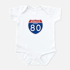 Interstate 80 - NV Infant Bodysuit