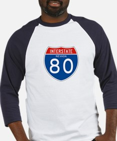 Interstate 80 - NV Baseball Jersey