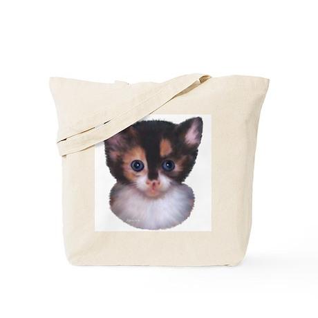 Blue Eyed Kitten 2 Tote Bag