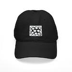 SKULL ART DESIGN Black Cap