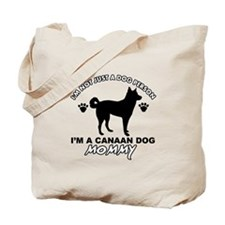 Canaan Dog Mommy Tote Bag
