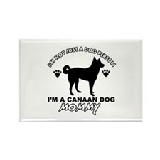 Canaan Dog Mommy Rectangle Magnet (10 pack)