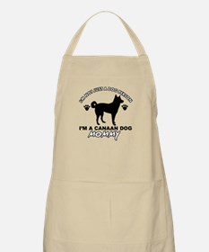 Canaan Dog Mommy Apron