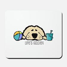 Life's Golden Beach Mousepad