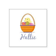 Easter Basket Hallie Sticker