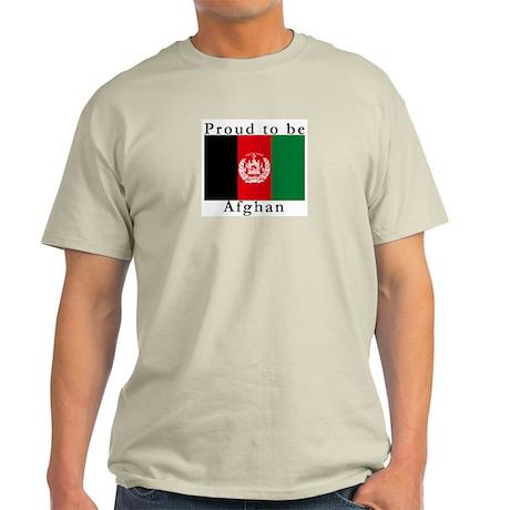 Afghanistan Ash Grey T-Shirt