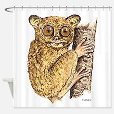 Tarsier Animal Shower Curtain