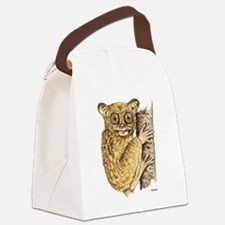 Tarsier Animal Canvas Lunch Bag