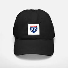 Interstate 80 - CA Baseball Hat