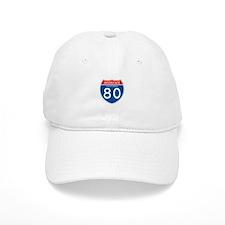 Interstate 80 - CA Baseball Cap