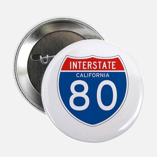 Interstate 80 - CA Button