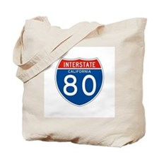 Interstate 80 - CA Tote Bag
