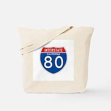 Interstate 80 - CA Tote Bag
