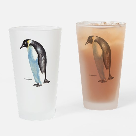 Emperor Penguin Bird Drinking Glass