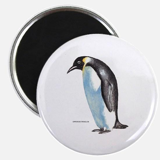 """Emperor Penguin Bird 2.25"""" Magnet (10 pack)"""