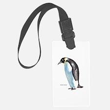 Emperor Penguin Bird Luggage Tag