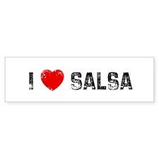 I * Salsa Bumper Bumper Sticker
