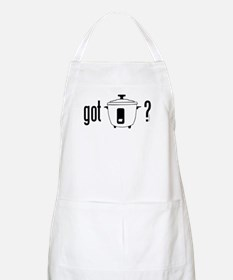 got rice? (cooker symbol) Apron
