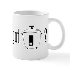 got rice? (cooker symbol) Mug