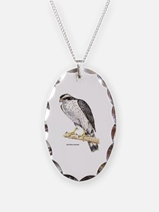 Northern Goshawk Bird Necklace