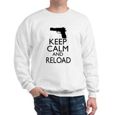Keep Calm and Reload Sweatshirt
