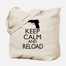 Keep Calm and Reload Tote Bag