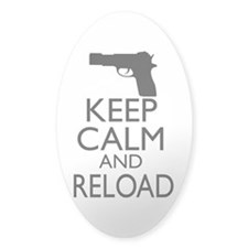 Keep Calm and Reload Decal