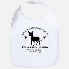 Chihuahua Mommy Bib