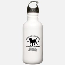 Chesapeake Bay Retriever Mommy Sports Water Bottle