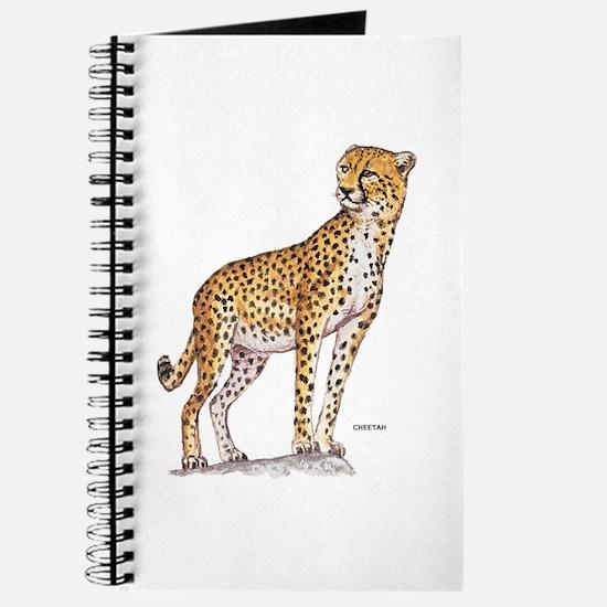 Cheetah Big Cat Journal