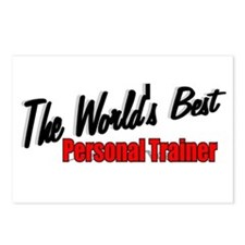 """The World's Best Personal Trainer"" Postcards (Pac"