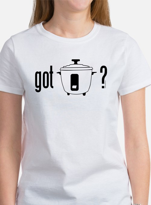got rice? (cooker symbol) Tee