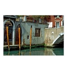 Scene on Venice Canal Postcards (Package of 8)