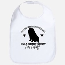 Chow Chow Mommy Bib