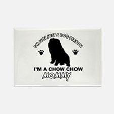 Chow Chow Mommy Rectangle Magnet (100 pack)