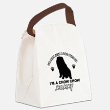 Chow Chow Mommy Canvas Lunch Bag