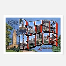 Baton Rouge Louisiana Greetings Postcards (Package