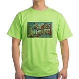 Baton rouge Green T-Shirt